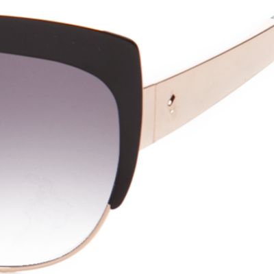 Cat Eye Sunglasses: Black kate spade new york Raelyn Sunglasses