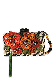 Mary Frances Native Ginger Clutch