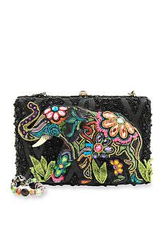 Mary Frances Elephant Flowers Evening Bag