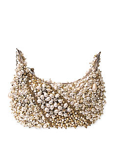 Mary Frances Mini 324 Sea of Pearls Handbag