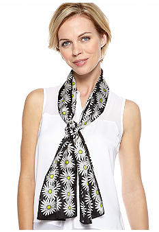 Echo Graphic Daisy Scarf