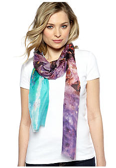 Echo Amethyst and Agate Scarf