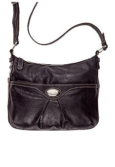 Rosetti Triple Play Violet Crossbody Bag