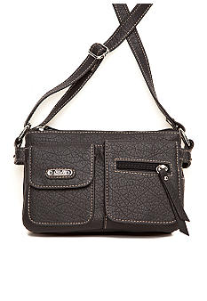 Rosetti Cash & Carry Outback Double Pockets Crossbody