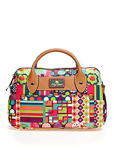 Lily Bloom Crossbody Satchel Handbag