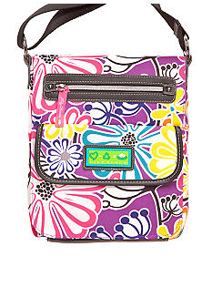 Lily Bloom Mid Size Tablet Case Crossbody Bag