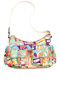 Lily Bloom Double Pocket Hobo Bag