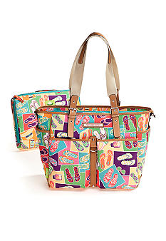 Lily Bloom Laptop Work School Tote