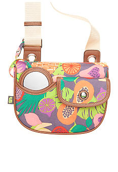 Lily Bloom Mini Saddle Crossbody Bag