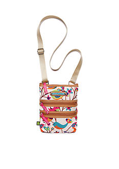 Lily Bloom Triple Zip Crossbody