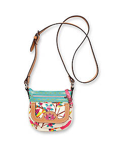 Lily Bloom Mini Eco-Shine Cross Body Bag