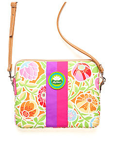 Lily Bloom Tablet Case with Strap