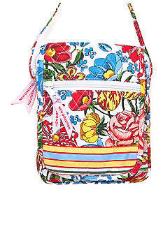 New Directions Quilted Multi Stripe Crossbody