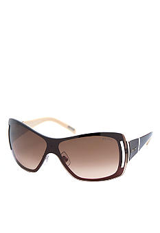 Ralph by Ralph Lauren Overlay Shield Sunglasses