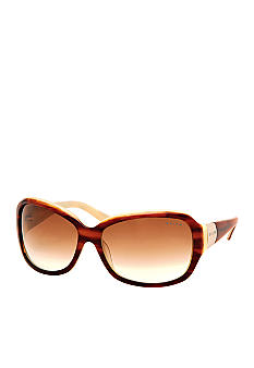 Ralph by Ralph Lauren Square Metal Cap Sunglasses