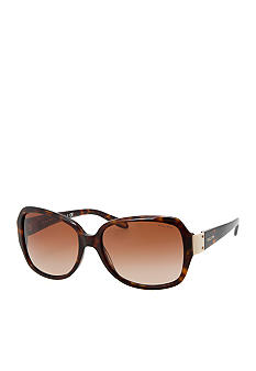 Ralph by Ralph Lauren Square Metal Hinge Sunglasses