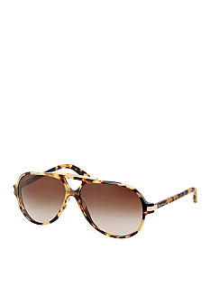 Ralph by Ralph Lauren Keyhole Aviator Sunglasses