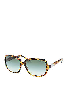 Ralph by Ralph Lauren Thin Frame Rectangle Sunglasses