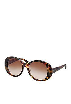 Ralph by Ralph Lauren Oval Thick Front Sunglasses