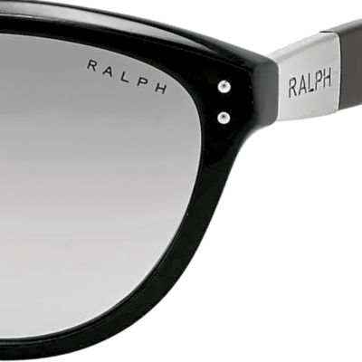 Women: Ralph By Ralph Lauren Accessories: Gray Ralph by Ralph Lauren Cateye Sunglasses