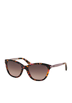 Ralph by Ralph Lauren Extended Temple Cat Eye Sunglasses