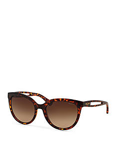 Ralph by Ralph Lauren Vented Temple Cateye Sunglasses