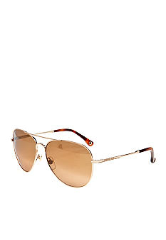 Michael by Michael Kors Gold Aviator Sunglasses