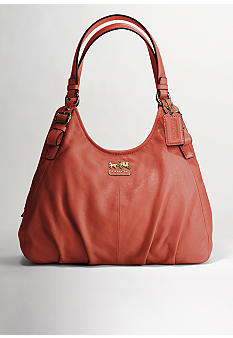 COACH MADISON LEATHER MAGGIE SHOULDER BAG