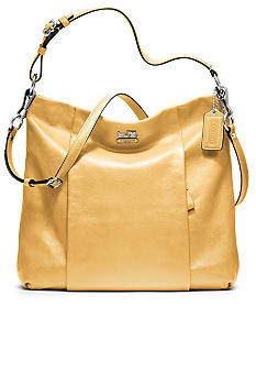 COACH MADISON LEATHER ISABELLE SHOULDER BAG