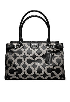 COACH MADISON OP ART SATEEN KARA CARRYALL