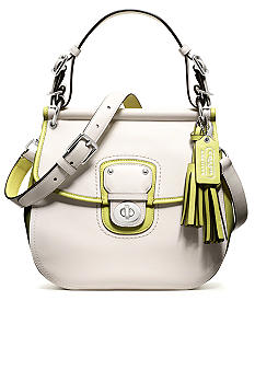 COACH LEGACY ARCHIVAL 2-TONE LEATHER WILLIS CROSSBODY