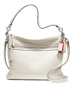 COACH POPPY LEATHER PERRI HIPPIE CROSSBODY