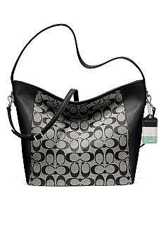 COACH LEGACY WEEKEND SIGNATURE C SHOULDER BAG