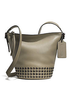COACH BLEECKER GROMMETS MINI DUFFLE BAG