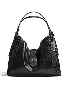 COACH MADISON GROMMETS CARLYLE SHOULDER BAG