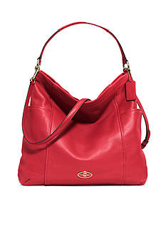 COACH LEATHER GALLERY HOBO