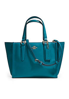 COACH SMOOTH LEATHER CROSBY MINI CARRYALL