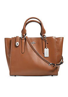 COACH LEATHER CROSBY CARRYALL