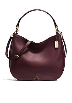COACH GLOVETANNED LEATHER NOMAD HOBO BAG