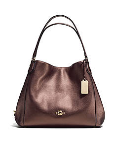 COACH EDIE SHOULDER BAG 31 IN PEBBLE LEATHER