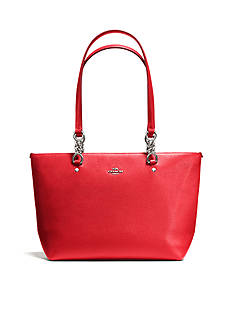COACH POLISHED PEBBLE LEATHER SOPHIA SMALL TOTE