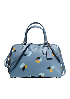 COACH FLORAL PRINT PEBBLE LEATHER NOLITA SATCHEL