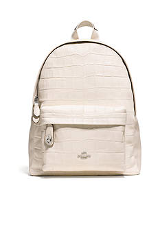 COACH CAMPUS BACKPACK EMBOSSED LEATHER