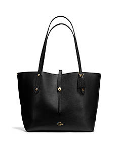 COACH Market Tote in Pebbled Leather