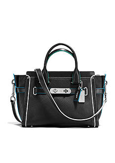 COACH SWAGGER 27 IN EDGESTAIN LEATHER