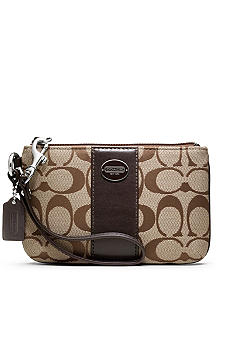 COACH LEGACY SIGNATURE SMALL WRISTLET