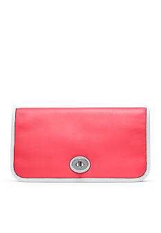 COACH LEGACY ARCHIVE TWO TONE UTILITY CLUTCH