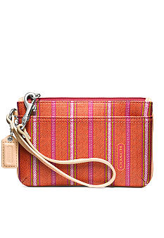 COACH LEGACY WEEKEND TICKING STRIPE SMALL WRISTLET