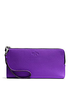 COACH BLEECKER L-ZIP WALLET