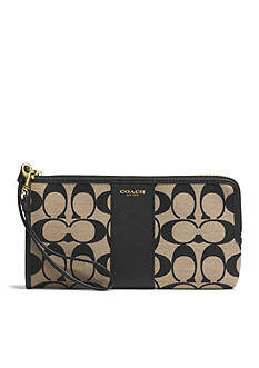 COACH LEGACY L-ZIP WALLET